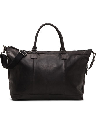 Cavendish leather Gym bag