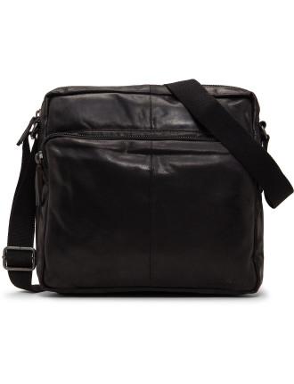 Cavendish leather EW messenger