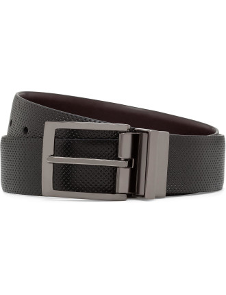 Rever 34mm Pin Buckle With Embossed Texture Strap