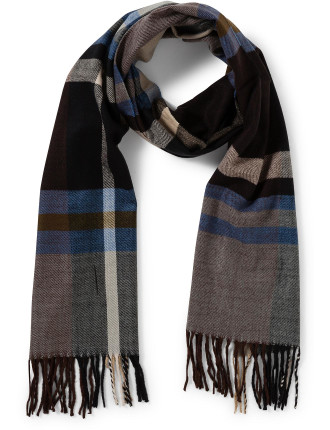 Skye Large Check Scarf