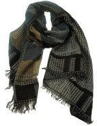 Multi Check Scarf $39.95