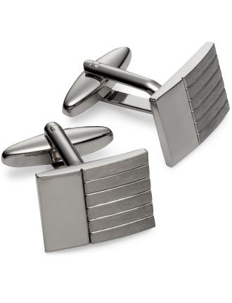Rhodium Smartset Cufflinks