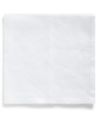 Hemstitch Linen Single Cello Handkerchief