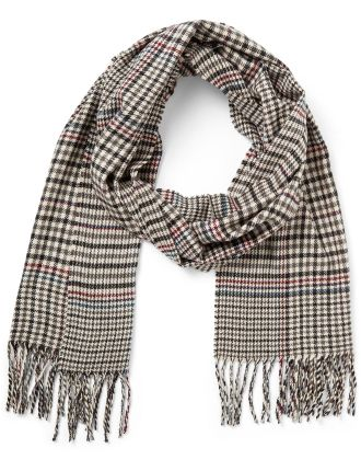 Inverness Fine Check Scarf