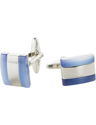 Blue Cats Eye Cufflinks