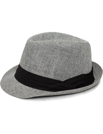 Fabric Trilby W Black Band