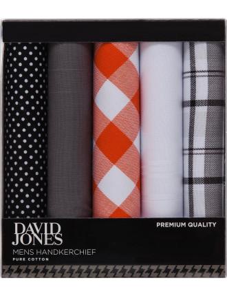 Premium Fashion Hanky 5 Box