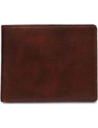Bifold Wallet Lh Flip Coin Pu