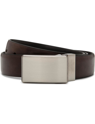 Alta Linea Reversible Brushed Nickel Plate Buckle 32mm