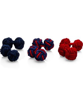 Silk Knots (3prs)