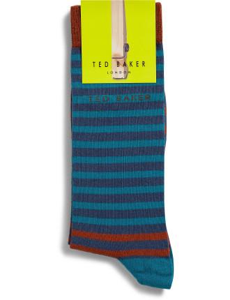 Org Rectangle Pattern Sock