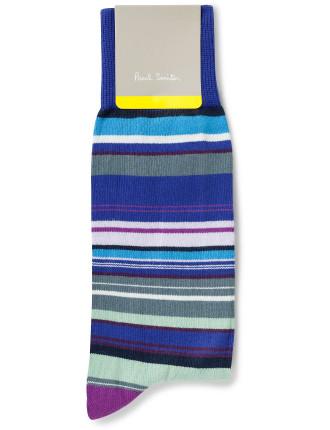 Skinny Stripe Sock
