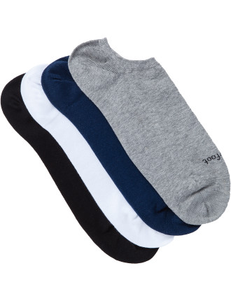Casual Ankle Sock Pack of Four