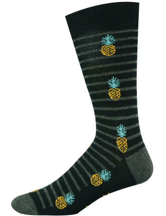 Pineapple Stripe Socks