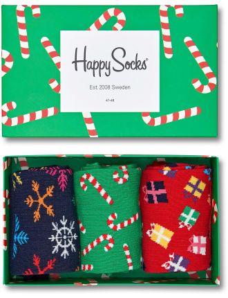 Xmas Three Sock Gift Box