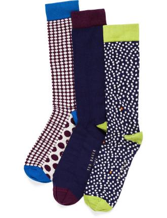 Plain And Spot Sock Pack