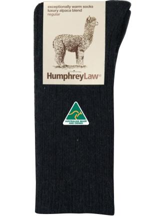 Alpaca Wool Blend Health Sock