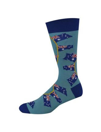 Australia Flags Socks