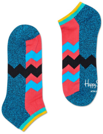 Athletic Zig Stripe Low Sock