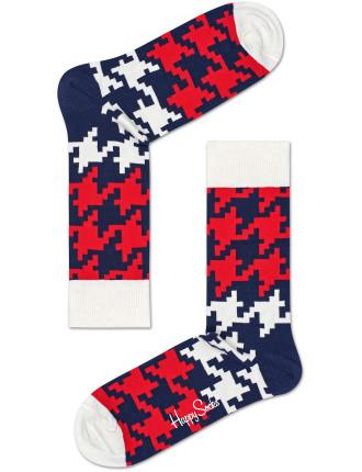 Dogtooth Sock