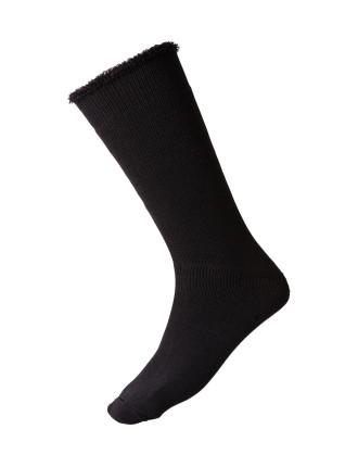 Cross Wool Blend Sock