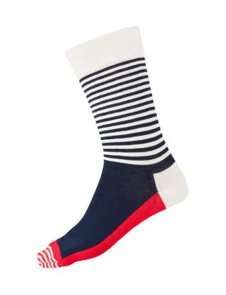 Stripe Half Socks