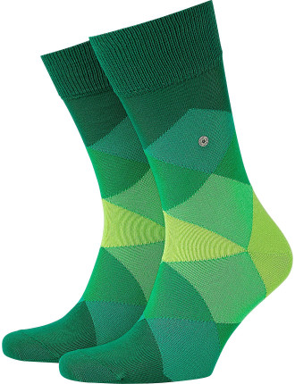 Clyde Large Diamond Socks