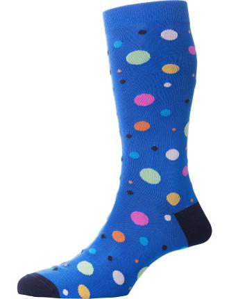 Orleans Multi Spot Sock