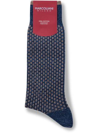 Pencil Stripe Sock