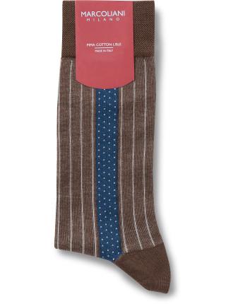 Gatsby Pinstripe Sock