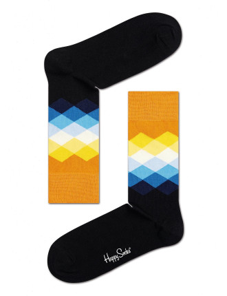 Faded Diamonds Socks