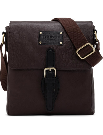 Toclimb Leather Cross Body Messenger