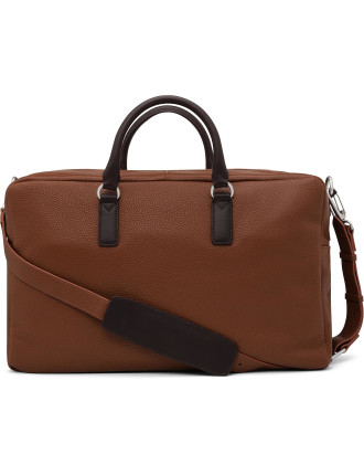 Classic Leather Weekender