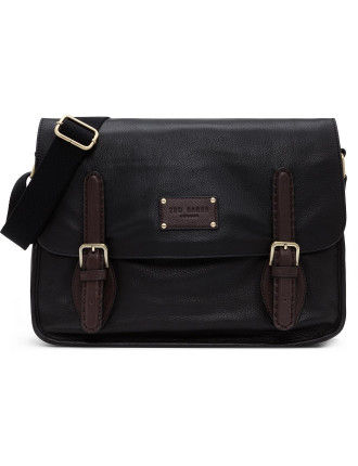 Tosway Leather Cross Body Messenger