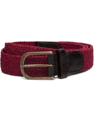The Last Elastic Woven Belt
