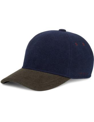 Wool Block Baseball Cap