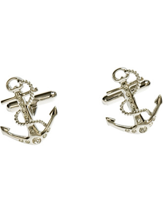 Tattoo Anchor Cufflinks
