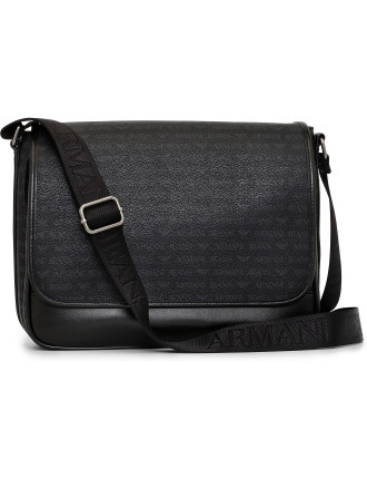 Eco Leather East-West Messenger