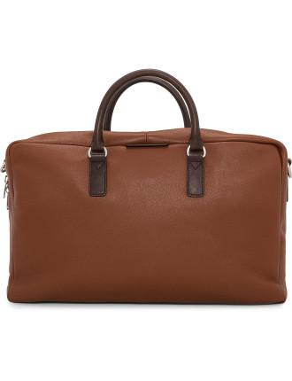 Simple Leather Weekend Bag