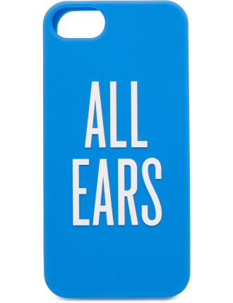 All Ears Iphone 5 Soft Case