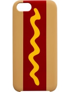 Hot Dog Iphone 5 Hard Case $40.00