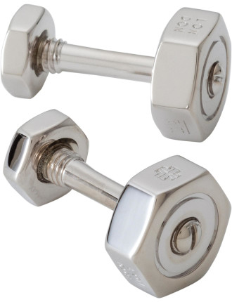 Nut and Bolt Cufflink