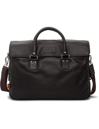 Lewes leather workbag
