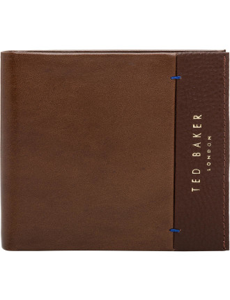 SLIPPER LEATHER GRAIN BIFOLD WALLET