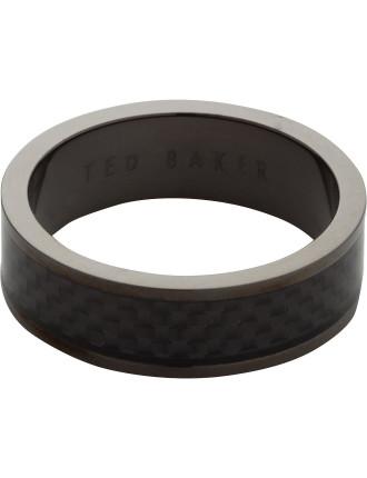 Carbon Fiber Inlay Ring