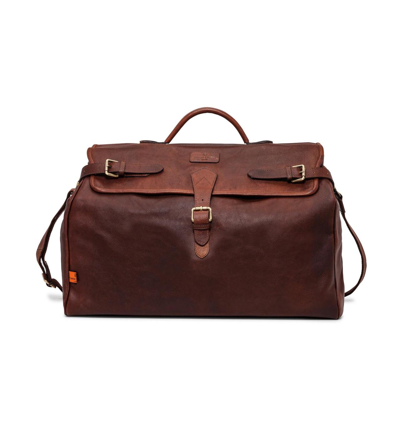 Norfolk Leather Weekend Bag