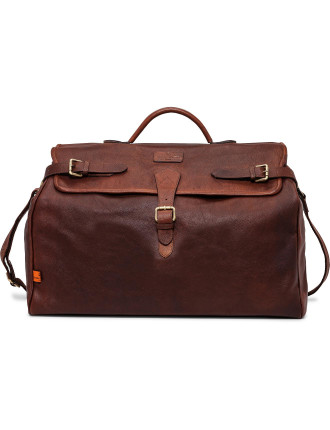Norfolk Leather Weekend Bag