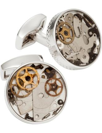 Watch Gears Cufflink