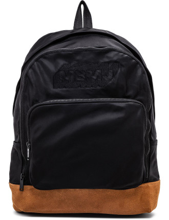 Ultimate Nylon Backpack W/ Embroidered Logo