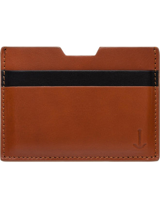 Two Tone Leather Card Holder